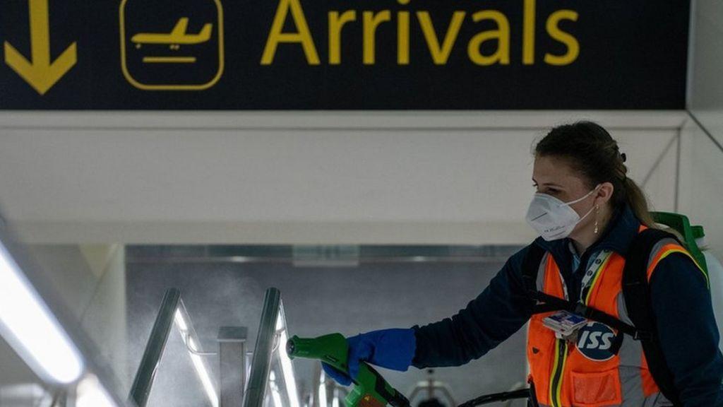 Coronavirus: Airport tests may provide 'early travel quarantine ...