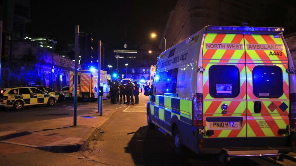 Deaths at Ariana Grande concert after explosion at Manchester Arena