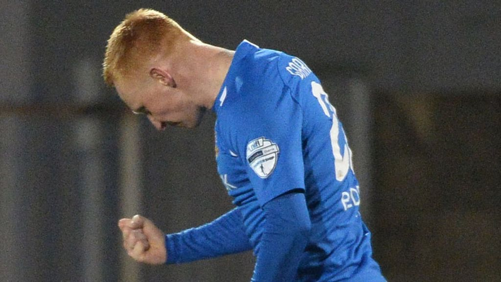 Irish Premiership: Linfield progress stalls with 1-0 loss to Glenavon - BBC  Sport