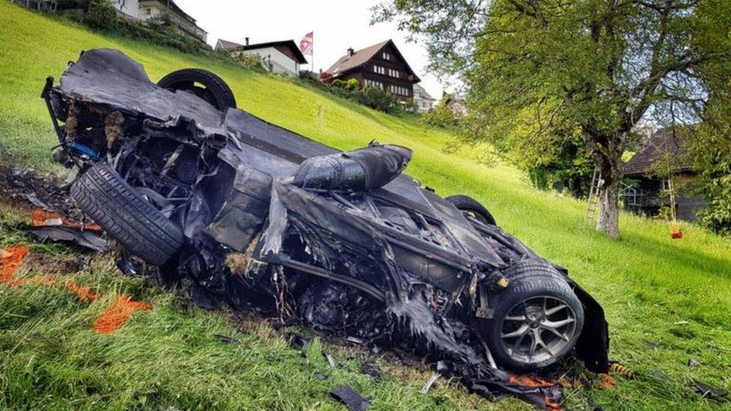 Ex-Top Gear host Richard Hammond injured in Swiss crash