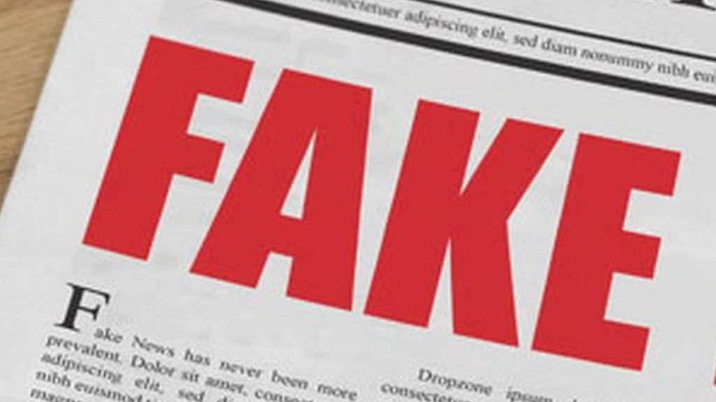 The (almost) complete history of 'fake news' - BBC News
