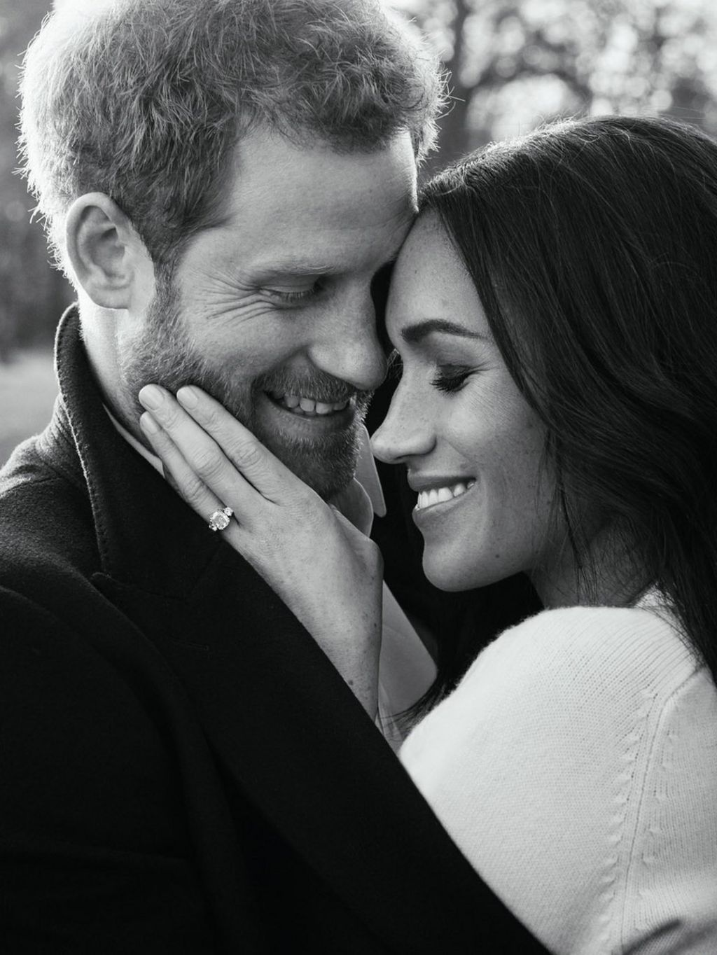 Prince Harry and Meghan Markle engagement photos released