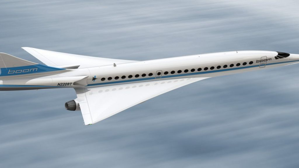 'Quiet Concorde' aims to revive supersonic air travel