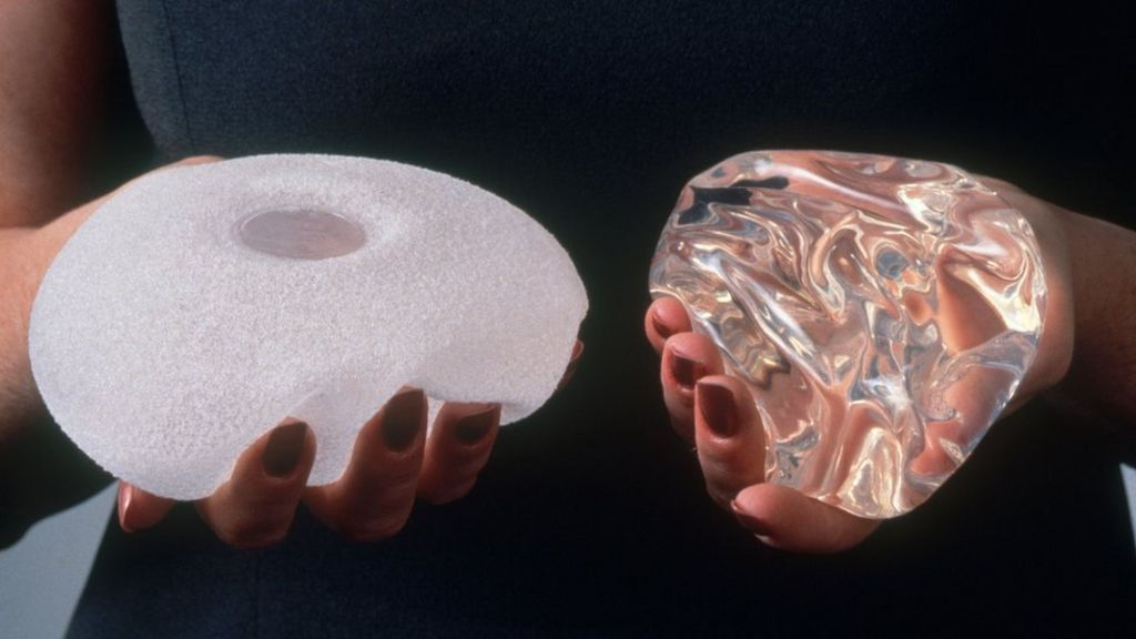 Women missing from breast implant register - BBC News