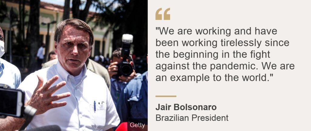 Bolsonaro quote card