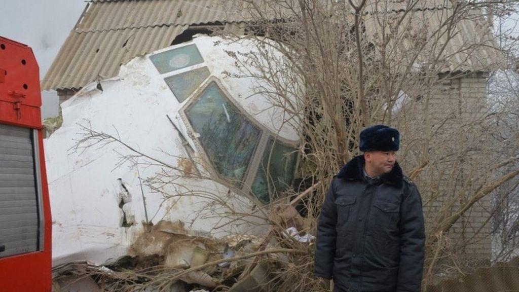 Kyrgyzstan plane crash: Dozens die as Turkish cargo jet hits