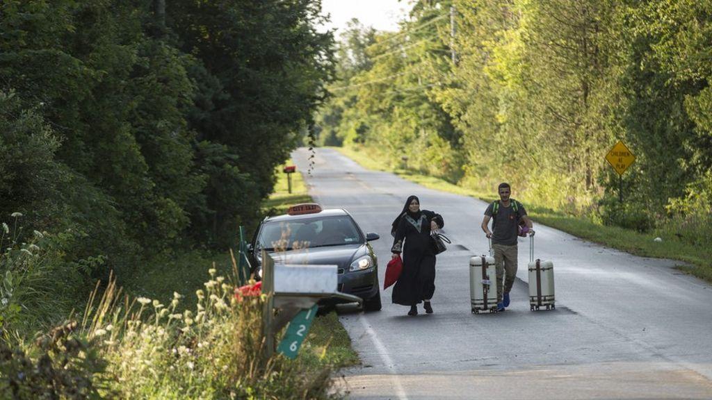 Surge in illegal US-Canada crossings