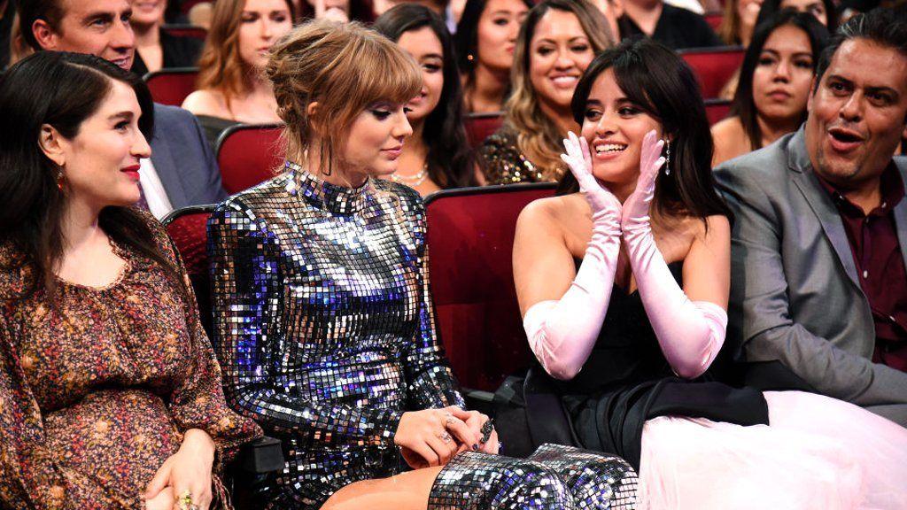 Taylor Swift and Camila Cabello
