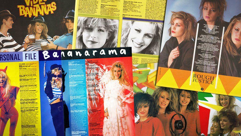 Bananarama in Smash Hits, No 1 and Look-In