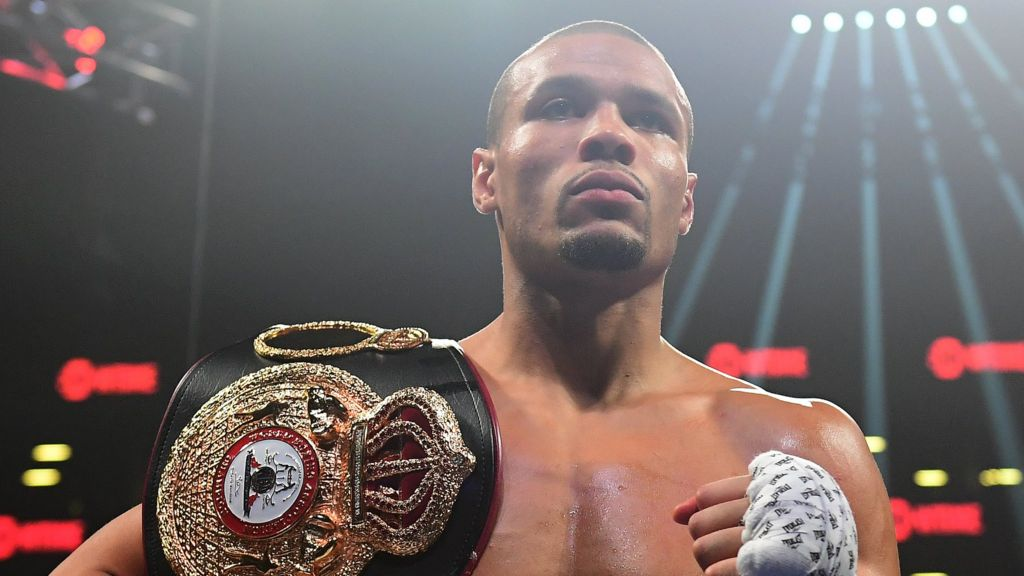 Chris Eubank Jr claims WBA title after Matt Korobov injury - BBC Sport
