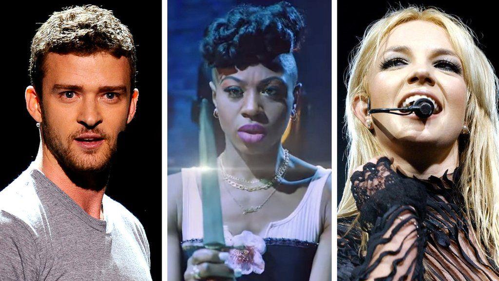 Justin Timberlake, Miriam-Teak Lee and Britney Spears