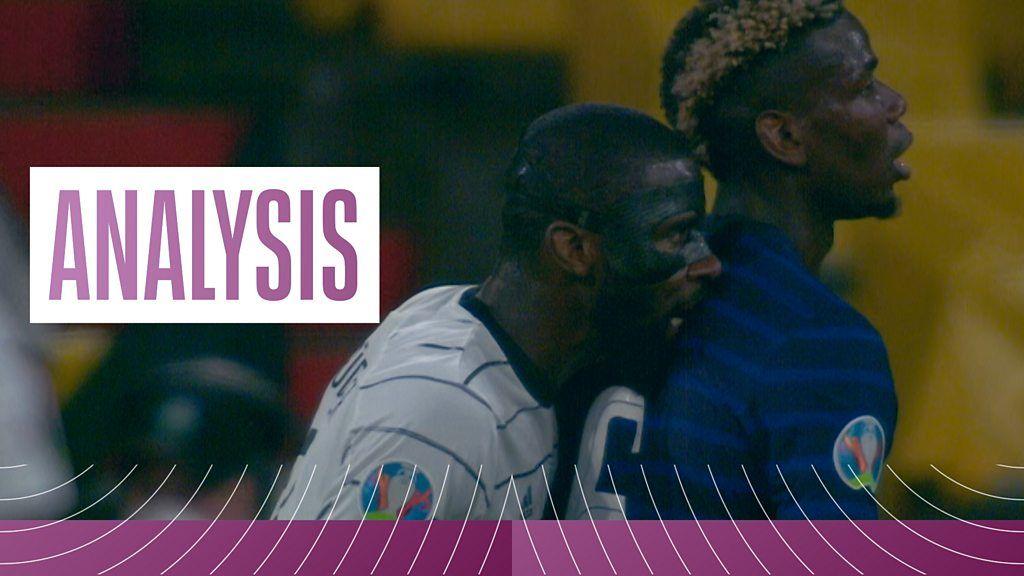 'A little bit untoward' - Did Germany defender Rudiger bite Pogba?