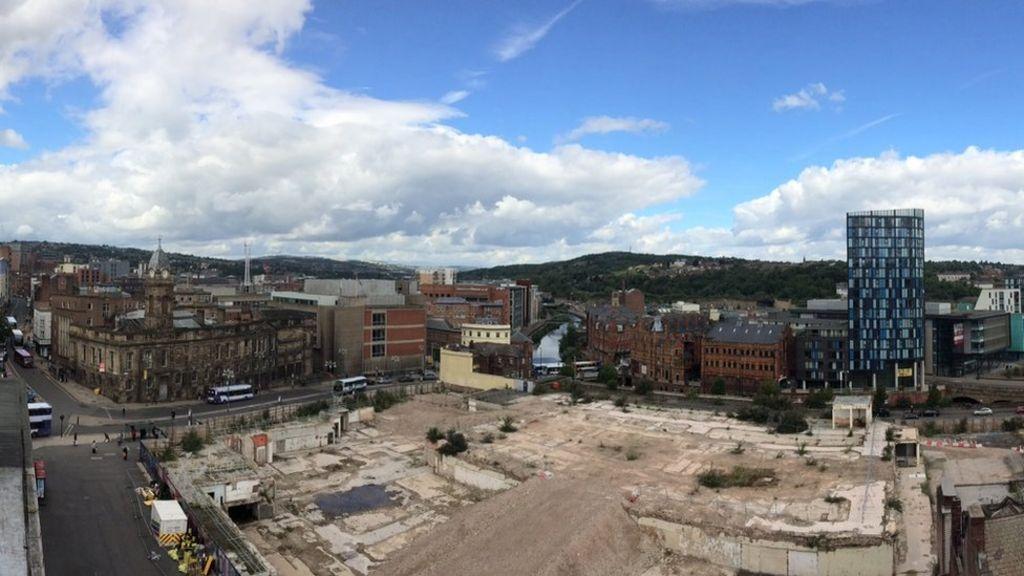 bbc.co.uk - Sheffield Castlegate: Virtual model of castle created