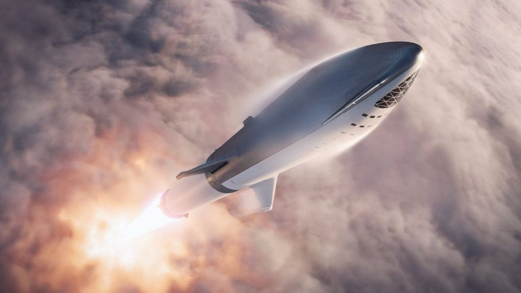 bbc.co.uk - Elon Musk unveils first tourist for SpaceX 'Moon loop