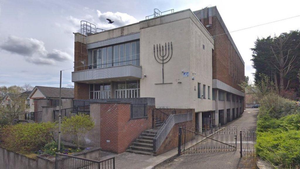 Arrest After Nazi Salute Synagogue Video Bbc News