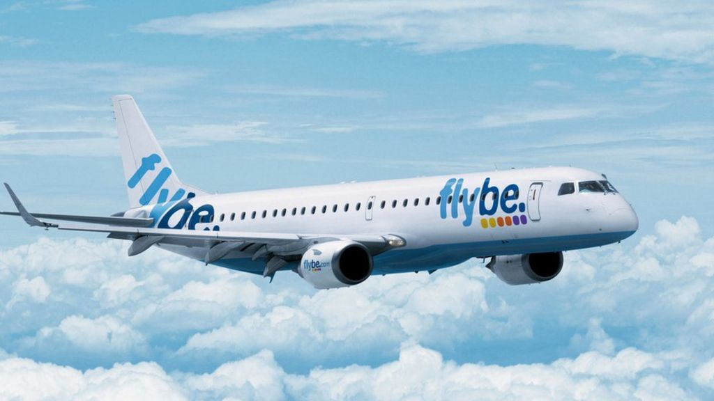 new concept 44bce 94bd8 Flybe ends Jersey flights to East Midlands and Leeds - BBC News