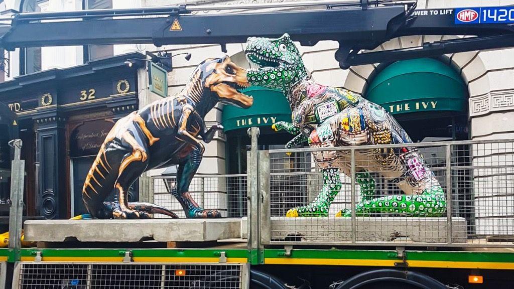 GoGoDiscover T. rex art works