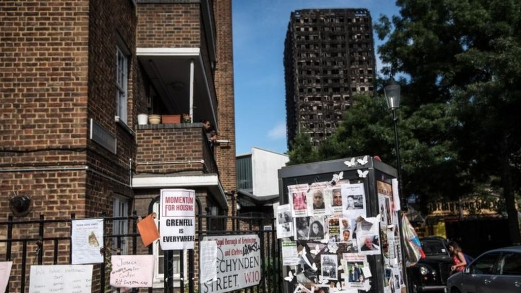 Grenfell Tower fire: More high-rises fail fire safety tests