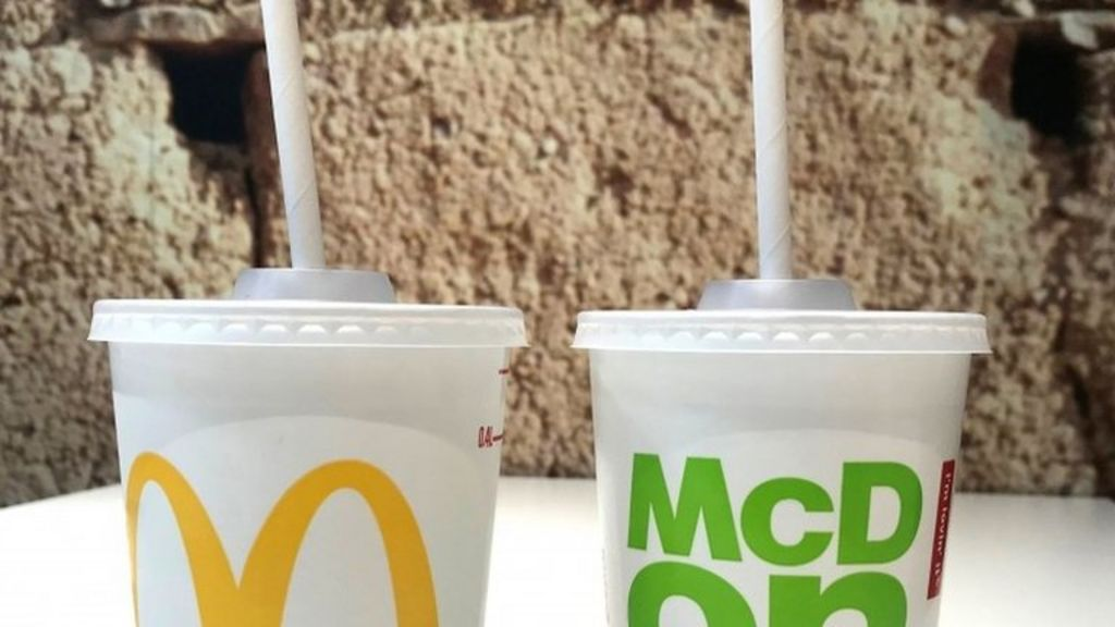McDonald's to ditch plastic straws - BBC News
