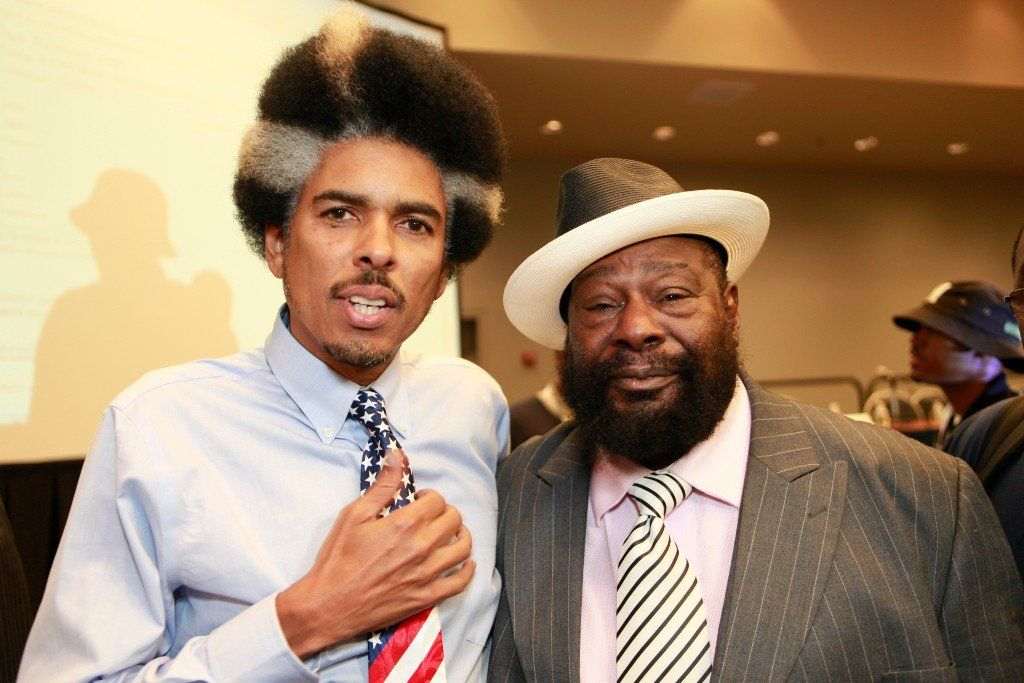 Shock G and George Clinton