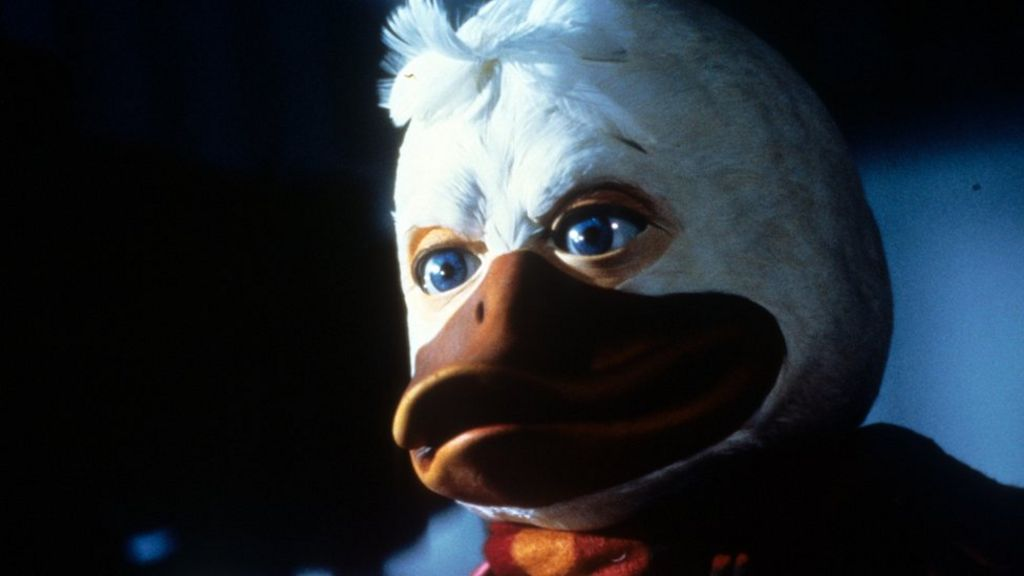 Marvel revives notorious flop Howard the Duck for TV - BBC News