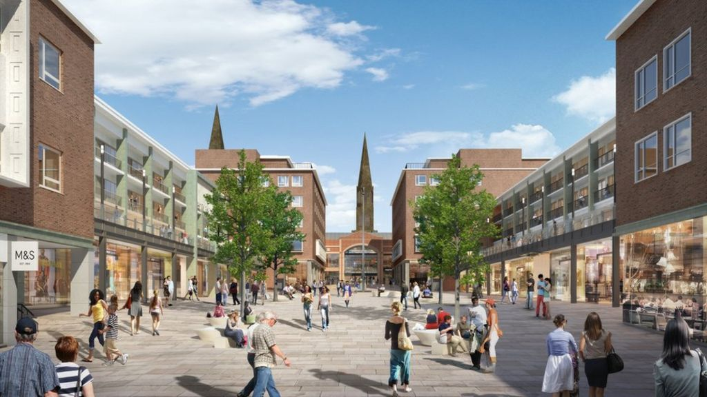 17m plans for coventry 39 s upper precinct revealed bbc news for Coventry plan
