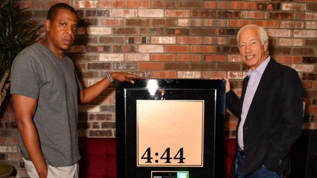 JAY-Z's digital-only album goes platinum in under a week