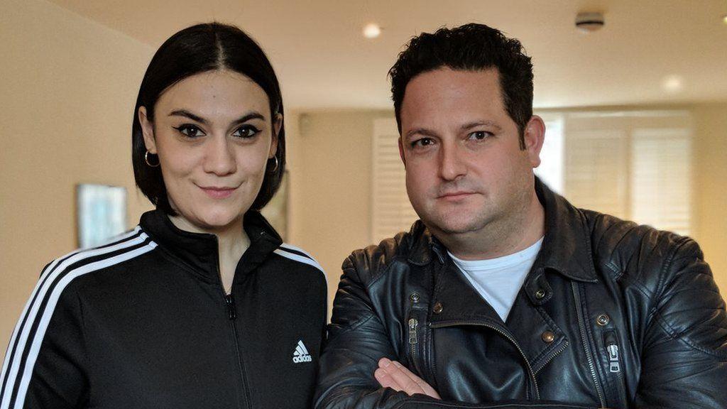 Chris Hawkins and Nadine Shah