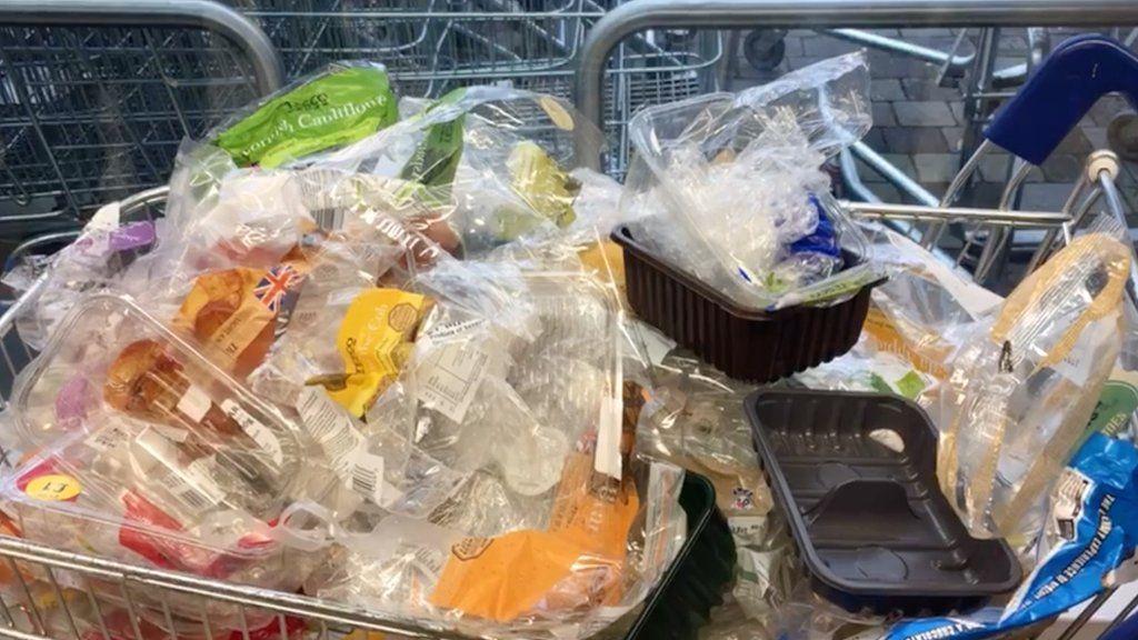 Plastic attack in Bath