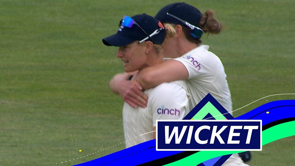 'That's an extraordinary catch!' - Brunt removes Verma