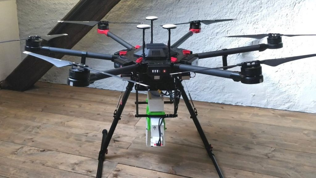 Drones scatter mosquitoes to fight diseases