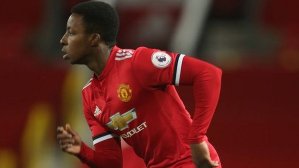 Man United U 23 Player Kehinde Pledges Future To Nigeria Bbc Sport