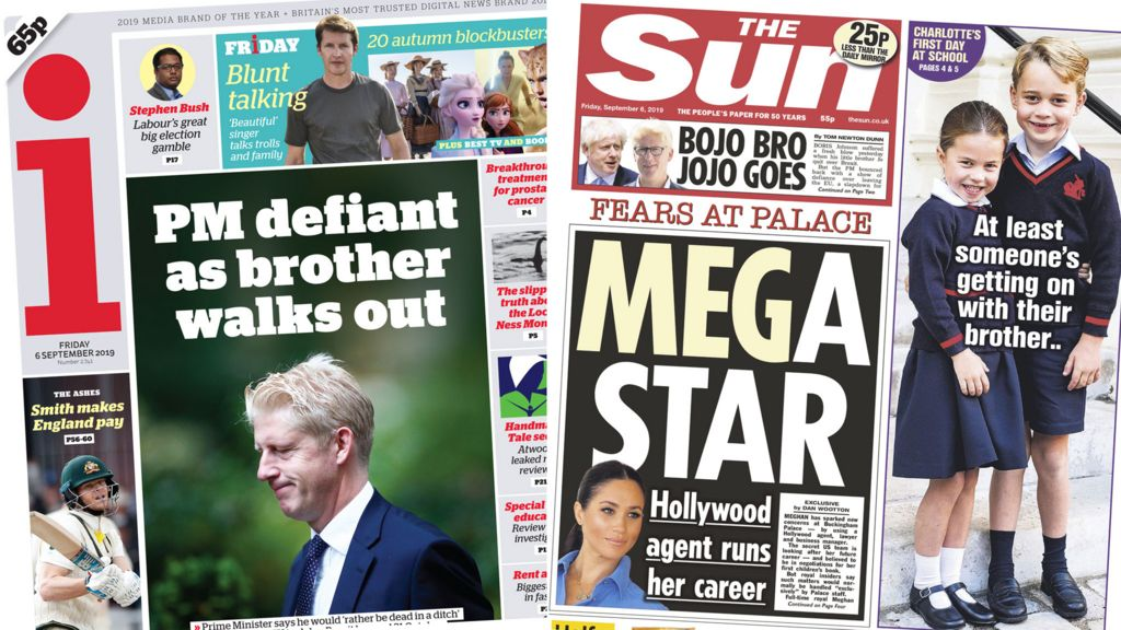 Newspaper headlines: Minister Jo Johnson quits to spend less