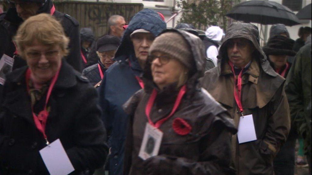 Cheltenham centenary march