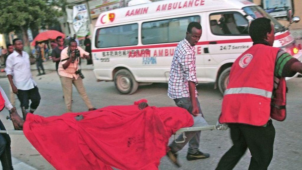 Somalia's vital Aamin Ambulance service 'faces closure' - BBC News