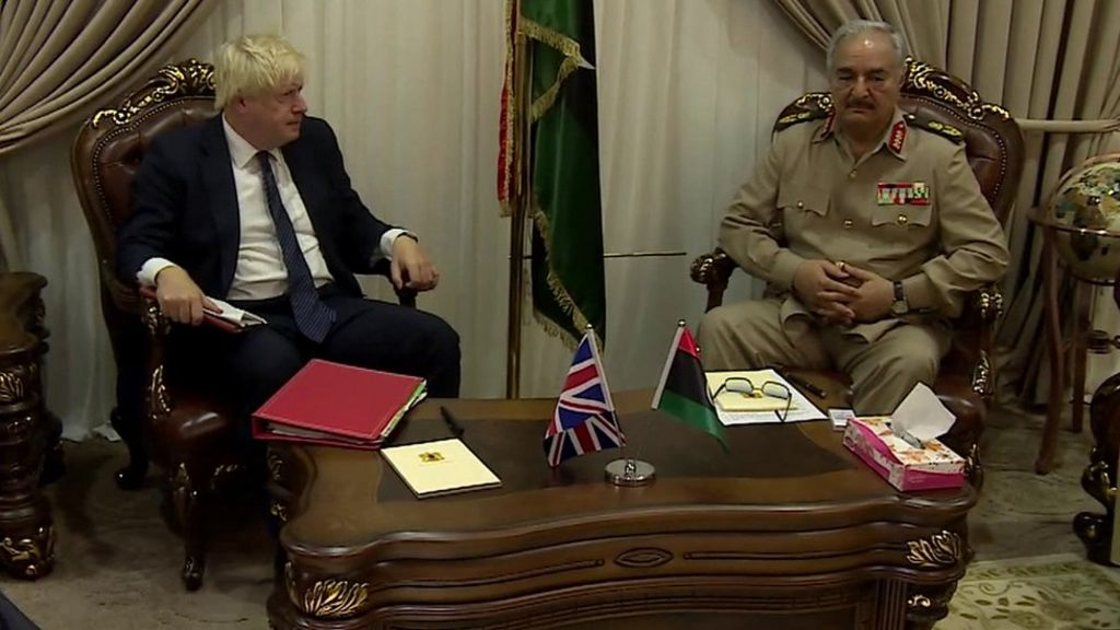 Boris Johnson says UK was 'over-optimistic' about Libya