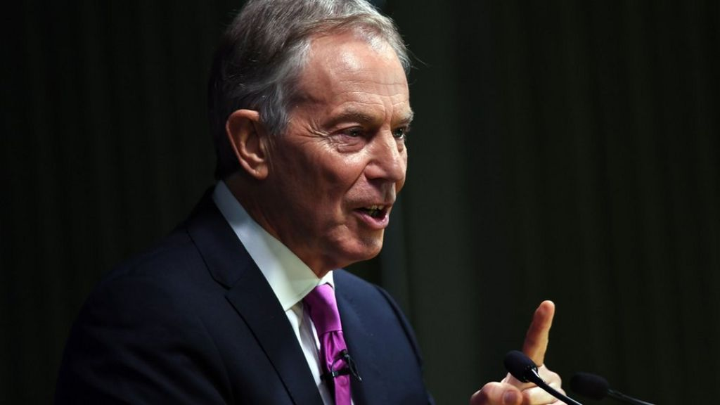 Tony Blair wants tougher immigration rules for EU citizens