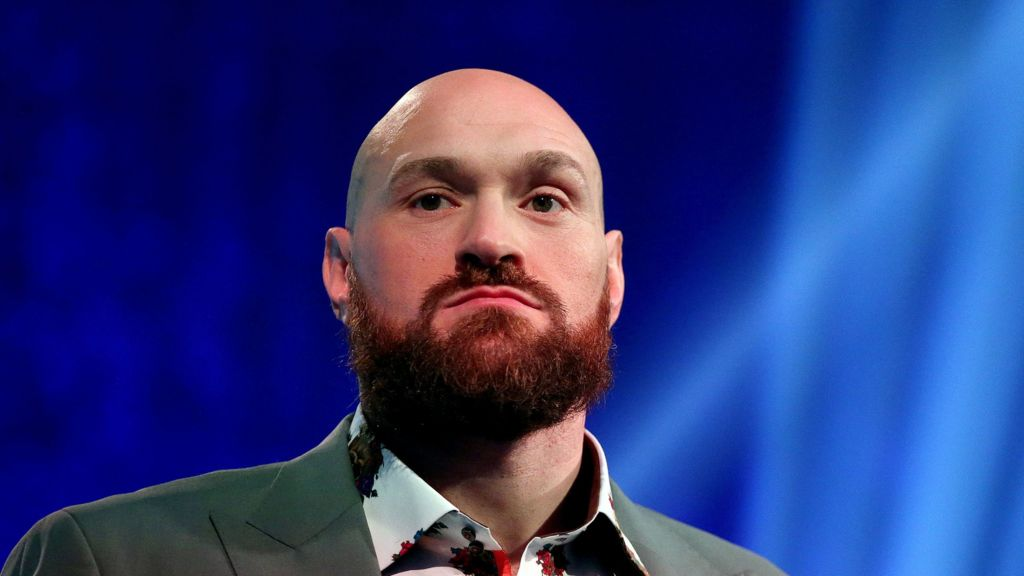 Tyson Fury says it is his 'calling' to help people with