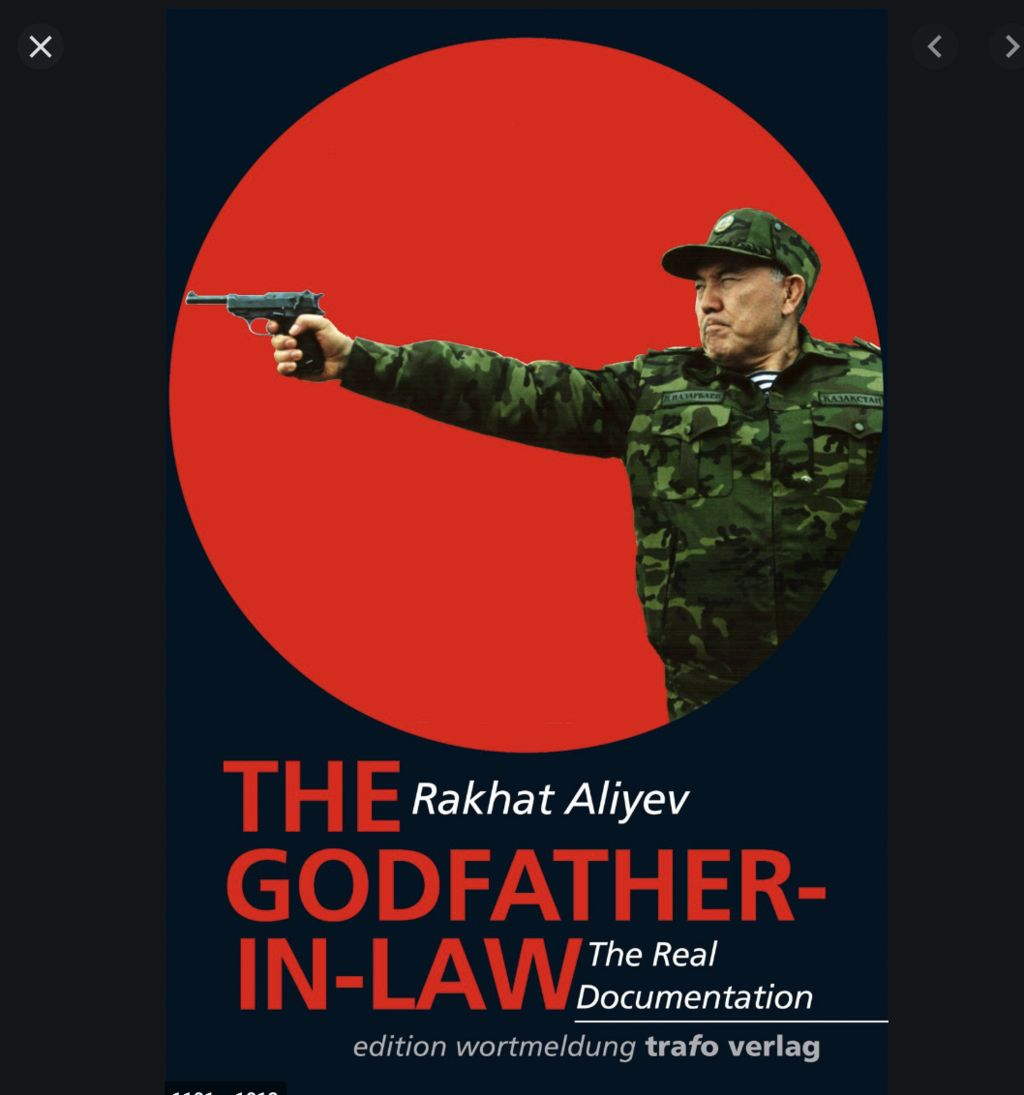 Mr Aliyev's late father, Rakhat, wrote a book in 2009