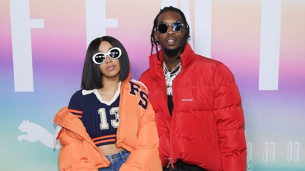 Cardi B defends fiancé Offset over use of 'queer' in a song