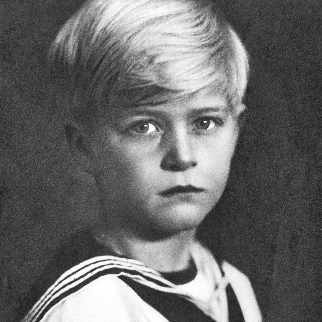 Prince Philip as a boy, 1927