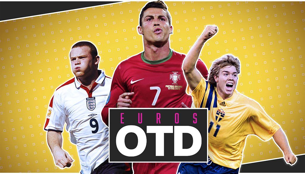 Euros On This Day - 17 June: Wayne Rooney bursts on to scene, Ronaldo dazzles & Tomas Brolin