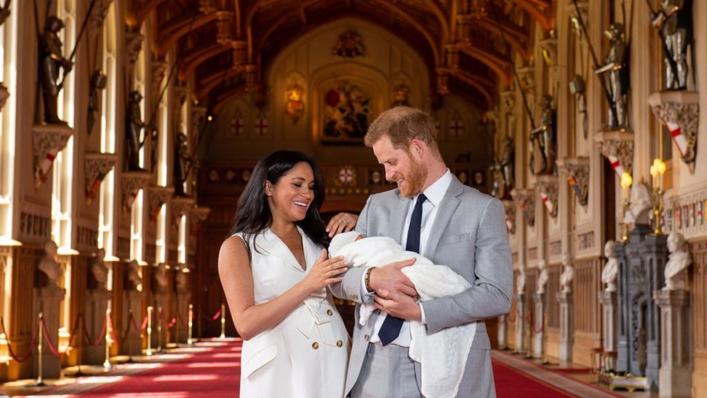 Is the new royal baby named after anyone