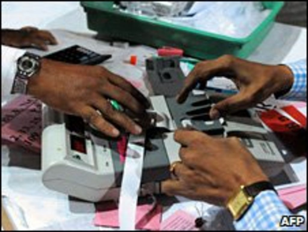 Us Scientists Hack India Electronic Voting Machines Bbc News Cable Wires And Electric Panel Sachin Trading Company