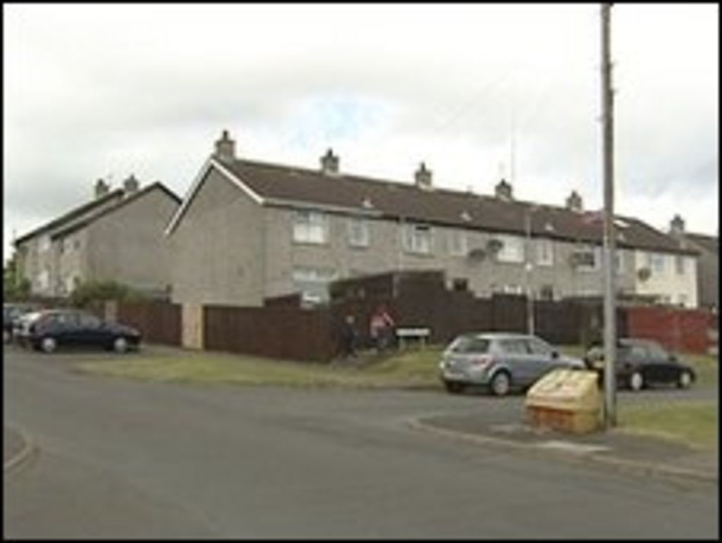 police appeal over assault on man in bangor flat bbc news. Black Bedroom Furniture Sets. Home Design Ideas