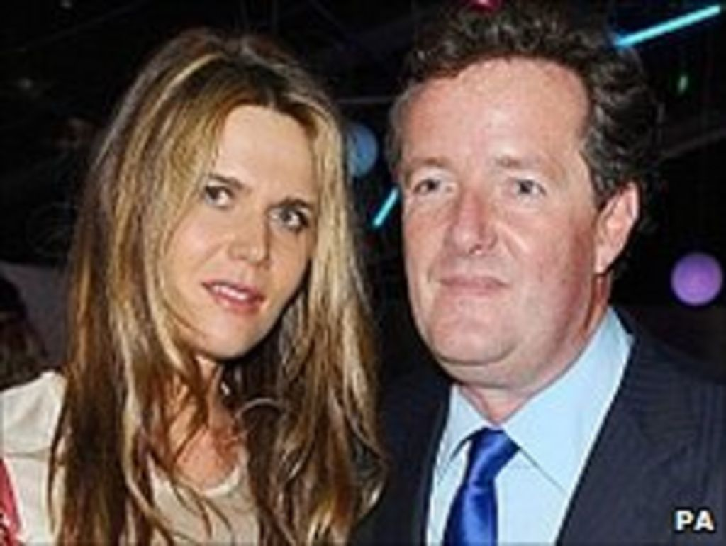 Britain S Got Talent Judge Piers Morgan Gets Married Bbc