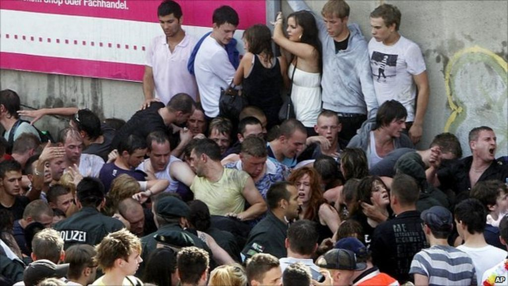 Stampede At German Love Parade Festival Kills 19 Bbc News