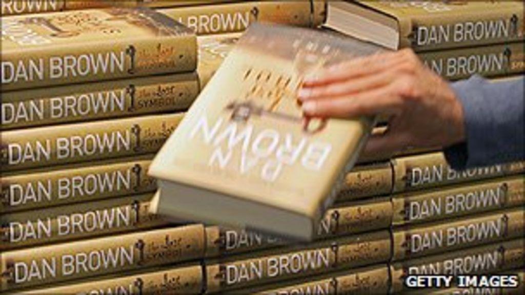 Dan Browns The Lost Symbol Sets Paperback Sales Record Bbc News
