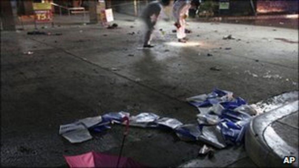 Philippine airport bomb kills two