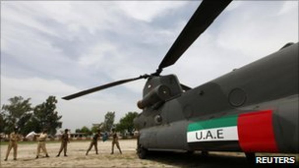UN calls for Pakistan helicopters